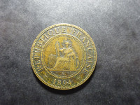 Indochine - 1 centime - 1894 A - Paris