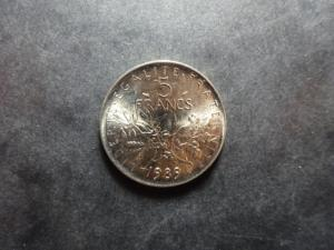 Semeuse - 5 Francs nickel - 1989
