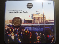 BU - France - 2 euros commémorative 2019 - Chute du Mur de Berlin