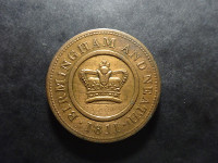 Royaume-Uni, Crown copper company - Copper penny - 1811