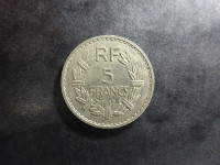 Lavrillier - 5 francs Nickel - 1937