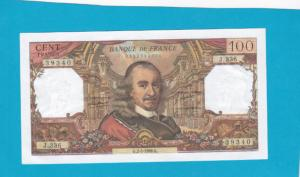 Billet 100 Francs Corneille 02-05-1968
