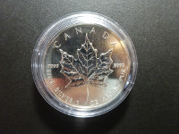 Canada - Maple Leaf - 1 Once argent - 2005