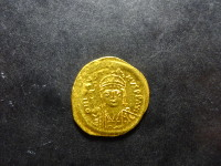 Byzantine, Justin II - Solidus or - Constantinople