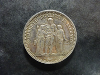 Hercule - 5 Francs - 1873 A - Paris