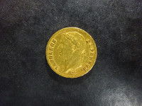 Napoléon Empereur - 20 francs or - 1813 A - Paris