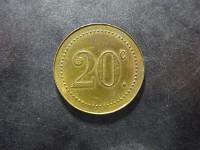 Ligue Monégasque - 20 centimes