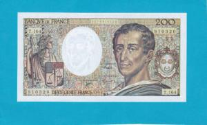 Billet 200 Francs Montesquieu - 1994