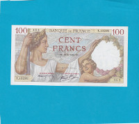Billet 100 Francs Sully 26-09-1940