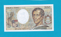 Billet 200 Francs Montesquieu - 1988