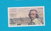 Billet 1000 Francs Richelieu 03-09-1953