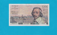 Billet 1000 Francs Richelieu 02-09-1954