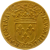 Louis XIII - Ecu d'or au soleil 1642 A (Paris)
