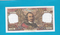 Billet 100 Francs Corneille 01-07-1965