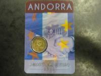 Andorre - 2 euros commémorative 2015 - Accord douanier