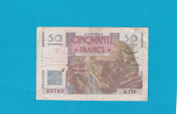 Billet 50 Francs Le Verrier 07-06-1951