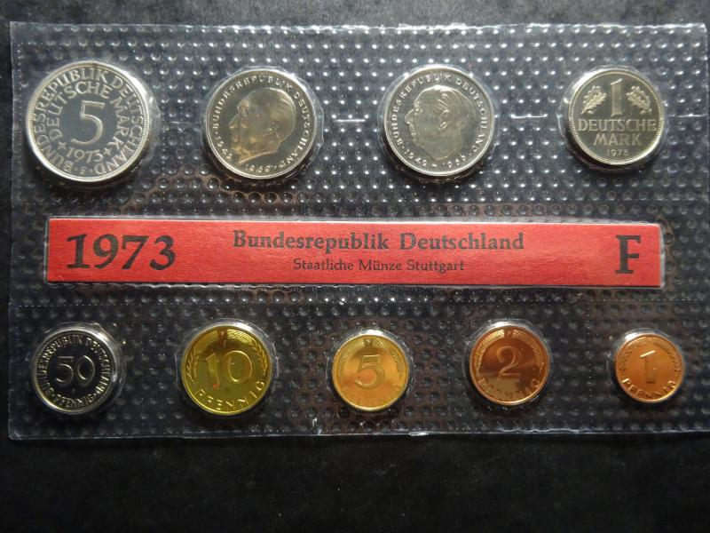 Allemagne Coffret Proof 1973 F Stuttgart