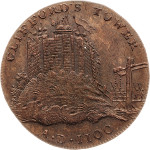 Royaume-Uni - Yorkshire - Token - 1795