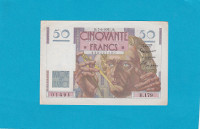 Billet 50 Francs Le Verrier - 07-06-1951