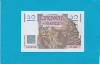 Billet 50 Francs Le Verrier - 02-03-1950