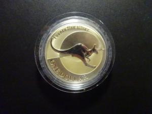 Australie - Kangourou - 1 once argent - 2004