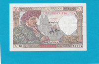 Billet 50 Francs Jacques Coeur - 11-09-1941