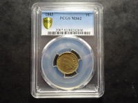 USA - 1 cent - 1863 - Philadelphie - PCGS MS62