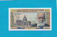 Billet 500 Francs Victor Hugo 10-07-1958